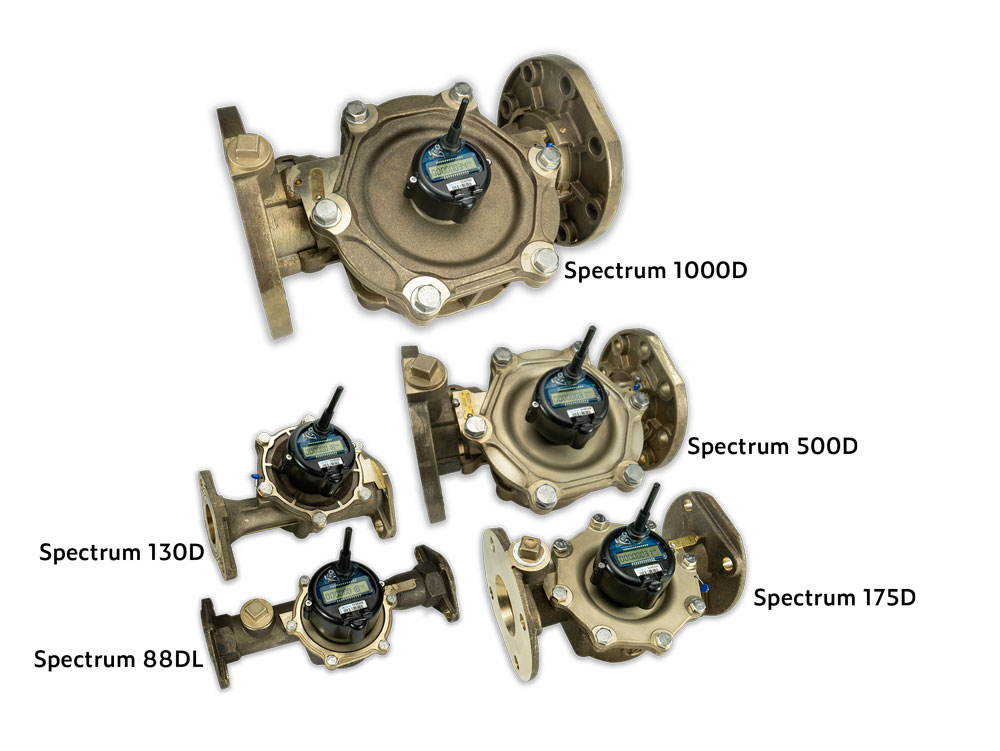 image of FiveSpectrum Water Meter Models