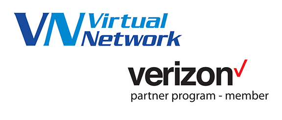image of Virtual Network and Verizon Partner Logos
